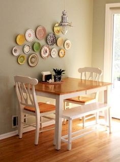 Stunning Small Dining Room Table Furniture Ideas – Idees de Salle a Manger Tiny Dining Rooms, Small Kitchen Tables, Small Tables, Small Dining Room Tables, Small Dining Table Apartment, Small Dining Room Furniture, Small Dining Area, Round Kitchen, Narrow Kitchen