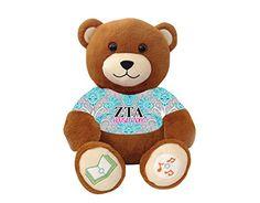 """Zeta Tau Alpha """"House Mom"""" Bluetooth music-playing teddy bear VictoryTeddyBear http://www.amazon.com/dp/B00SA4P4I6/ref=cm_sw_r_pi_dp_ibY8vb1GKW8QT"""