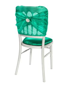 taffeta chair hoods | Pin by Debbie Allison on Wedding - Reception | Pinterest