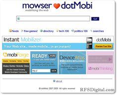 Cómo adaptar páginas web para verlas en móviles