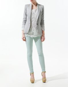jogging blazer. I saw this in Zara and it felt so soft and comfy yet it looks crisp. I'll just pin you for now.