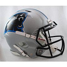 Riddell Carolina Panthers Revolution Speed Helmets