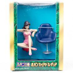 Lupin The 3rd Third Family Figure On The Chair Mine Fujiko Banpresto ANIME - Japanimedia