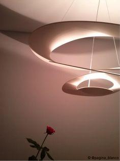 The rose and the #PIRCE suspension ! #design Giuseppe Maurizio Scutellà