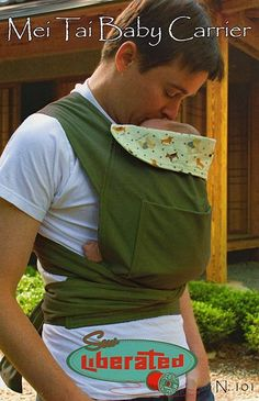 Mei Tai Baby Carrier ~ Sew Liberated Sewing Pattern - I think this is what I am wanting for Cinco as a newborn