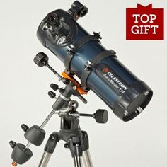 Great telescope gift for the beginner astronomer! Find at Telescopes.com. $129.98.