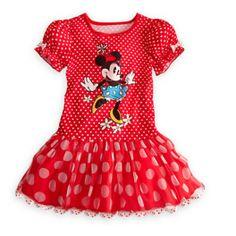 Dětské dívčí šaty Minnie