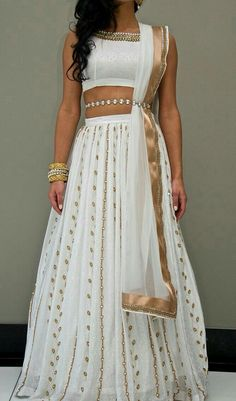 Indian Wedding Inspo Post with 4688 views. Indian Wedding In.- Indian Wedding Inspo Post with 4688 views. Indian Wedding Inspo Indian Wedding Inspo Post with 4688 views. Indian Outfits Modern, Indian Designer Outfits, Indian Wedding Outfits, Indian White Wedding Dress, Indian Fashion Modern, Indian Weddings, Indian Attire, Indian Wear, Indian Style