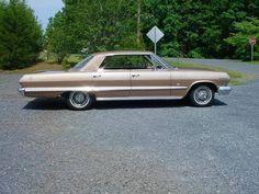 1963 Chevrolet Impala 4 Door Hardtop 327 300hp For Sale 1649456 Chevrolet Impala Chevrolet Impala