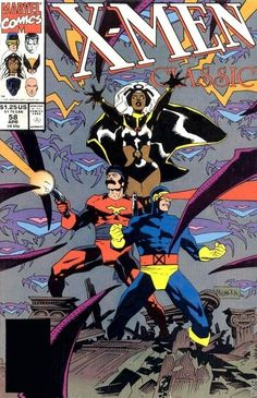 1991 - Classic X-Men #58, cover by Mike Mignola.