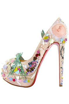 Tozlu Dolap: Christian Louboutin 2012 Yaz Ayakkabı Koleksiyonu
