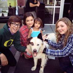 """Photo: Mick From """"Dog With A Blog"""" Visited The """"Mighty Med"""" Set September 5, 2014"""
