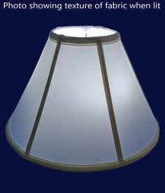 6-way 13 x 19 x 11.25 Beige Royal Designs Empire English Pleat Basic Lamp Shade