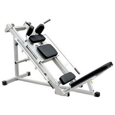 This Power Ram Sled hack-Machine/Leg press is a must for building lower body strength and control! This versatile allows for multiple exercises and adjusts for a variety of users and heights. Leg Press, Bench Press, Strength Training Equipment, No Equipment Workout, Fitness Equipment, Hack Squat Machine, Power Ram, Fitness Supplies, Gadgets