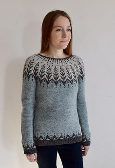 Ravelry: Vintersol pattern by Jennifer Steingass Knitting Charts, Knitting Patterns Free, Hand Knitting, Free Pattern, Handgestrickte Pullover, Hand Knitted Sweaters, Knitting Sweaters, Fair Isles, Ravelry