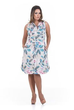 CHEMISIE BARRA REDONDA Relaxed Outfit, Fashion Outfits, Womens Fashion, Frocks, Fashion Beauty, Chiffon, Plus Size, Summer Dresses, My Style