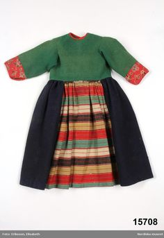Bodo, How To Purl Knit, Color Shapes, Folk Costume, Traditional Outfits, Vikings, Folk Art, Skater Skirt, Carl Larsson