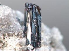 Samsonite - Samson mine, St Andreasberg dist., Harz, Lower Saxony, Germany  Formula Ag4MnSb2S6