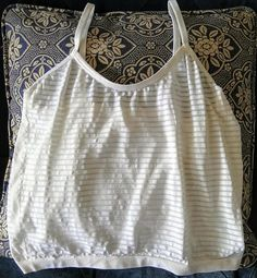 Items similar to Sheer spaghetti strap crop top on Etsy Athletic Tank Tops, Spaghetti, My Etsy Shop, Crop Tops, Trending Outfits, Check, Shopping, Women, Fashion