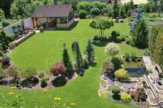 Backyard Garden Landscape, Garden Landscape Design, Terrace Garden, Back Garden Design, Garden Design Plans, Acreage Landscaping, Front Yard Landscaping, Beautiful Flowers Garden, Beautiful Gardens