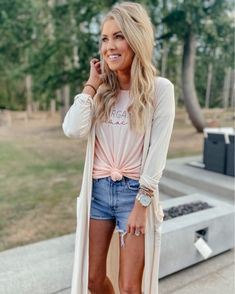 Country Outfits, Casual Outfits, Cute Outfits, Fashion Outfits, Womens Fashion, Spring Summer Fashion, Autumn Winter Fashion, Spring Outfits, Summer Wear