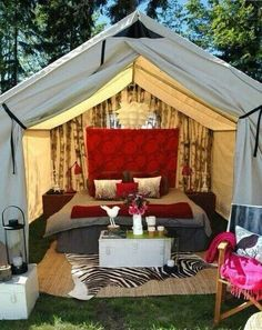 My kind of camping..