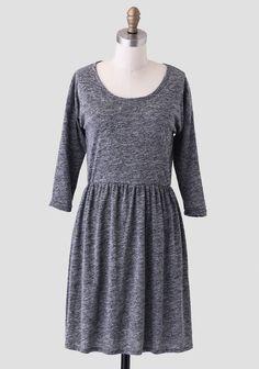 Exploring Midtown Heathered Dress