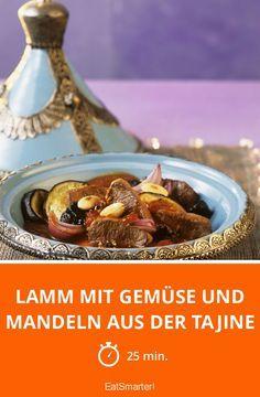 Lamm mit Gemüse und Mandeln aus der Tajine - smarter - Zeit: 25 Min.   eatsmarter.de