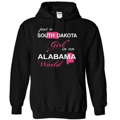 (SDJustHong001) Just A #South Dakota Girl In A Alabama World, Order HERE ==> https://www.sunfrog.com/Valentines/-28SDJustHong001-29-Just-A-South-Dakota-Girl-In-A-Alabama-World-Black-Hoodie.html?6789, Please tag & share with your friends who would love it , #christmasgifts #renegadelife #jeepsafari  #south dakota badlands, deadwood south dakota, south dakota photography #legging #shirts #tshirts #ideas #popular #everything #videos #shop