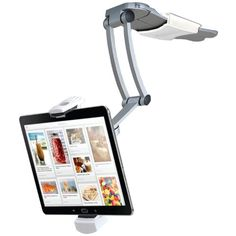 CTA Digital 2-In-1 Kitchen Mount Stand for iPad Air/iPad mini and All Tablets (PAD-KMS) CTA Digital http://www.amazon.com/dp/B00I4I92C2/ref=cm_sw_r_pi_dp_uR7fvb0ZJ2D7X