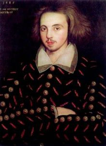 Christopher Marlowe: poet, dramatist and spy: was he Arbella's tutor for a time? Or was it Morley the musician who was involved in Arbella's affairs?