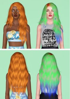 Stealthic's Midsummer Night Hair Converted to Sims 3 by Electra Heart Sims for Sims 3 - Sims Hairs - http://simshairs.com/stealthics-midsummer-night-hair-converted-to-sims-3-by-electra-heart-sims/