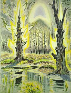 by american visionary artist charles ephraim burfield