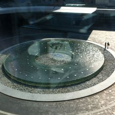 Cleveland Clinic water feature
