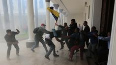 Violence Breaks Out At Venezuela's National Assembly