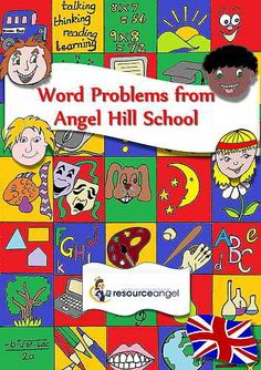 Freebie. Follow the link and get this now! 6 word problem packs featuring one and two step problems. What are you waiting for?