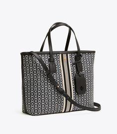 66316144bab Tory Burch Gemini Link Canvas Small Tote : Women's Matching Wallets &  Handbags Gemini,