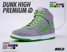 nike dunk high premium id new corduroy denim twill options 5 Nike Dunk High Premium iD   New Options