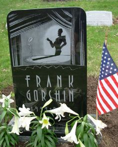 """Frank Gorshin, Jr - Actor. He was born in Pittsburgh (Pennsylvania). Appearing in more than 100 films, he is best remembered for his portrayal of the character 'The Riddler' in the classic 1960's TV series """"Batman,"""" for which he received an Emmy Award nomination."""