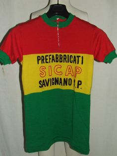a41cd57f7 MAGLIA BICI SHIRT MAILLOT CICLISMO EROICA VINTAGE 70 S SICAP 100% LANA  RICAMATA. Molteni Cycling