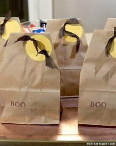 Being Frugal Sally: Halloween Treat Bags or Party Goodie Bags
