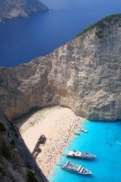 Shipwreck Cove Zakynthos, Greece
