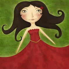 Rød Som Roser - Illustrasjon