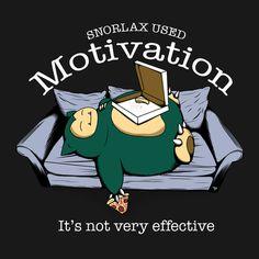 Snorlax used motivation... via Reddit user oPHILcial