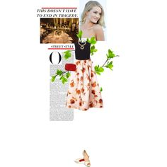"""""""Style Mission 3 - Ballgown"""" by crilovesjapan on Polyvore"""