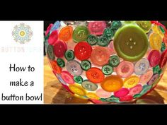 You'll Love Making A Button Bowl For Your Home | The WHOot