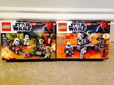 Lego star wars endor rebel, imperial, #clone trooper #battle packs #(9488 9489) n,  View more on the LINK: http://www.zeppy.io/product/gb/2/172467174125/