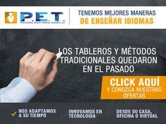 #NOVOCLICK esta con la innovación en idiomas #PET professional english training