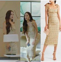 Krystal Lazy Fashion, Korean Fashion, Womens Fashion, Lace Midi Dress, White Dress, Bride Of The Water God, Krystal Jung, Asian Woman, Kpop Girls