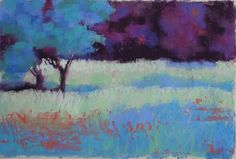 Daily Painters of Florida: Lynn Morgan Contemporary Pastel Landscape Painting